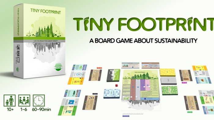 Tiny Footprint - a game about sustainability for 1-6 players