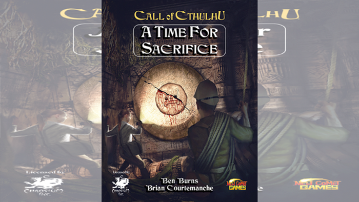 A Time for Sacrifice: A Call of Cthulhu Adventure