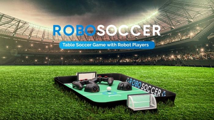 RoboSoccer: Table Soccer Game with Robot Players