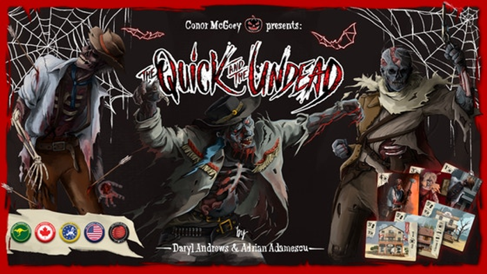 The Quick and the Undead - En/Fr/De