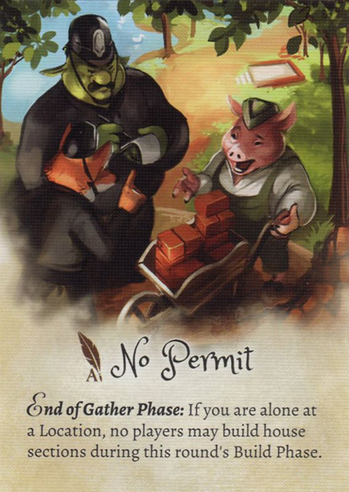 The Grimm Forest: No Permit