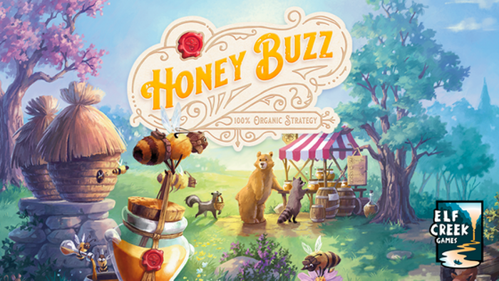 Honey Buzz — The Worker Bee Placement Game
