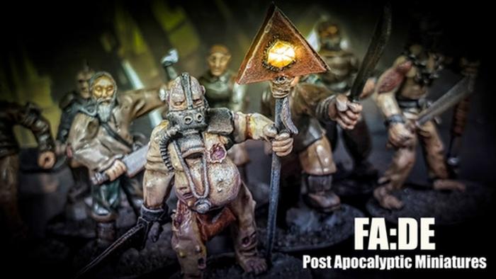 FA:DE 28mm Post Apocalyptic Metal Miniatures
