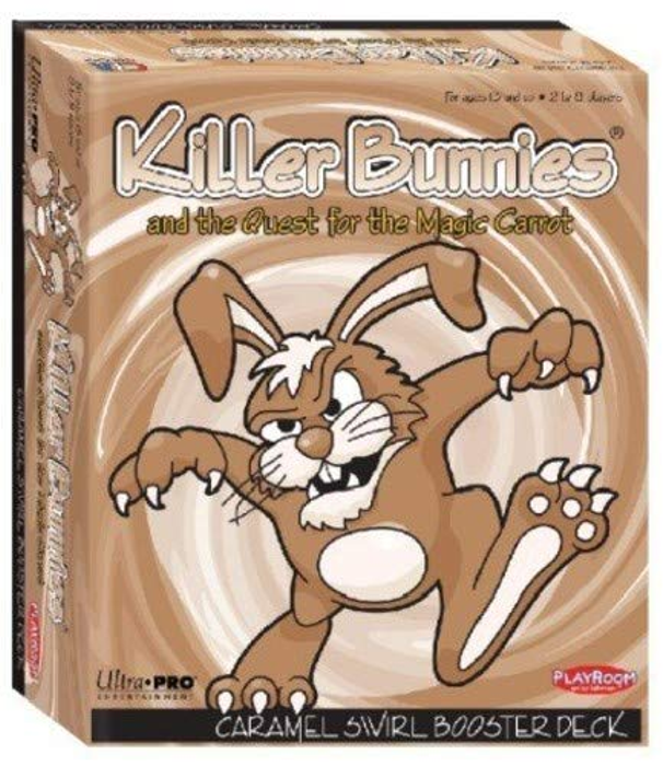 Killer Bunnies and the Quest for the Magic Carrot - CaramelSwirlBooster Deck