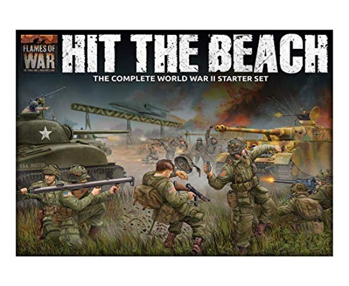Flames of War: Hit The Beach - Two Army Starter Set