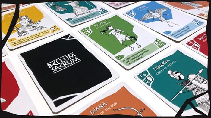 Bellum Sacrum Card Game