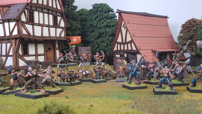 The Battle of the Vale - An tale of Heroic Halflings