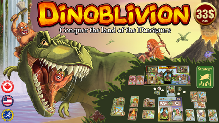 Dinoblivion - Conquer the Land of the Dinosaurs!