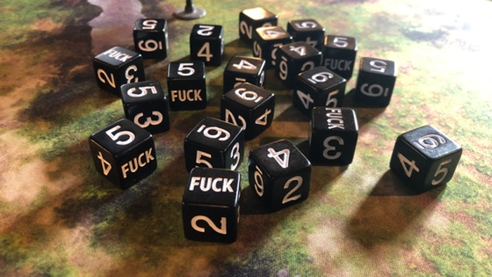 Fuck Yeah D6s - Six-Sided Dice