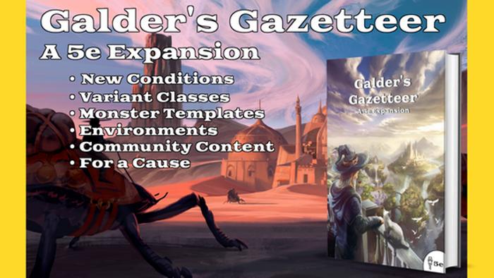 Galder's Gazetteer: A 5e Expansion
