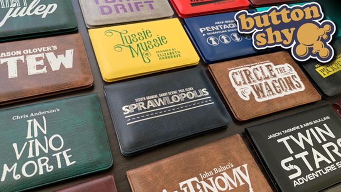 Button Shy Wallet Games - Reprint Campaign
