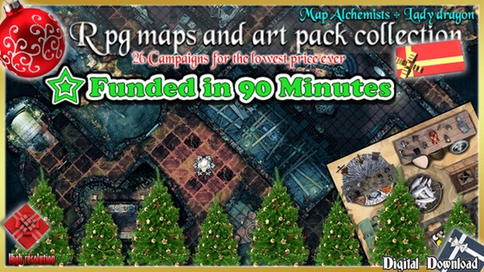 RPG maps and art packs 26 Campaigns collection