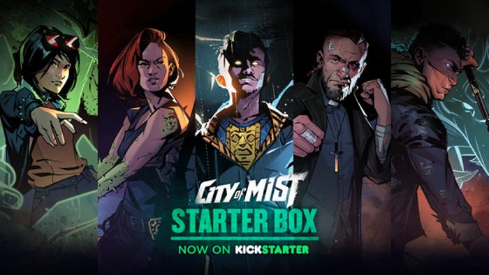 City of Mist RPG: The Starter Box