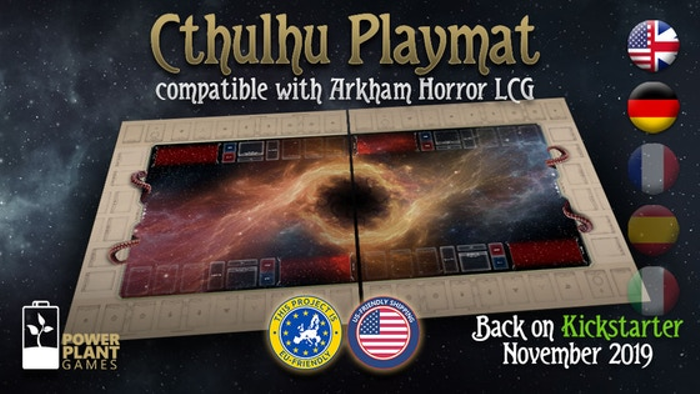 Cthulhu Playmat 2nd Ed. - compatible with Arkham Horror LCG