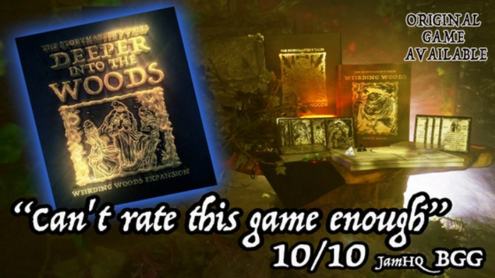 """The StoryMaster's Tales """"Deeper into the Woods"""" Hybrid RPG"""