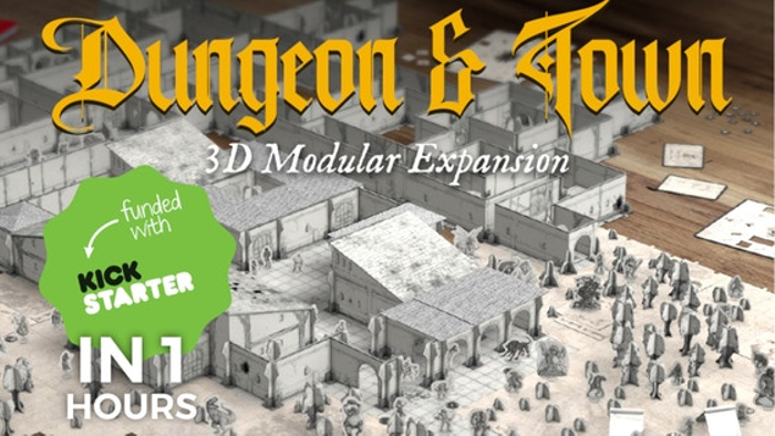 Fantasy World Creator: Dungeon & Town - 3D modular system