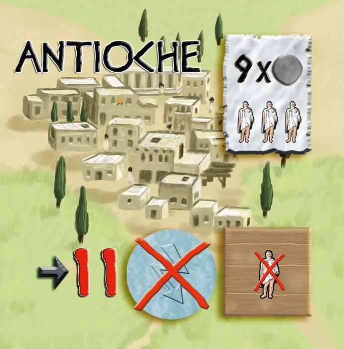 Peloponnes: Antioche