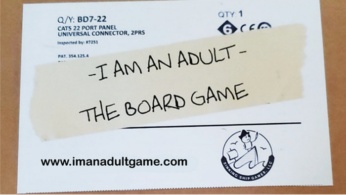 I Am An Adult The Board Game
