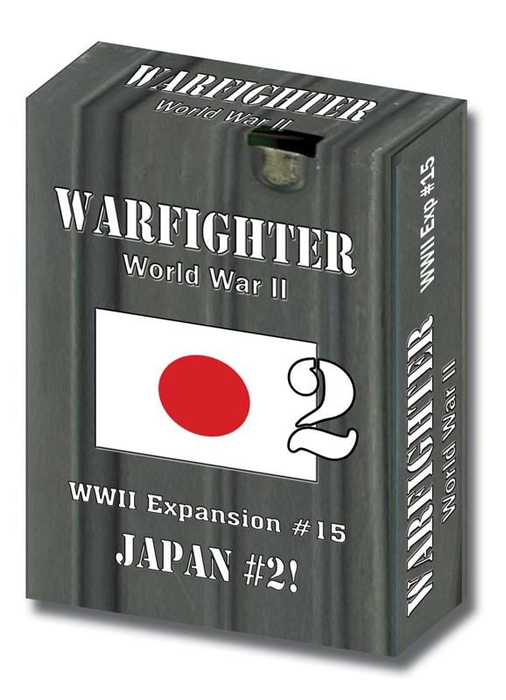 Warfighter: WWII Expansion #15 – Japan #2