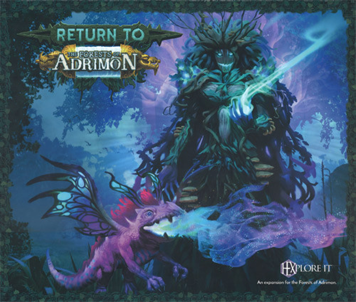 HEXplore It: The Forests of Adrimon - Return to the Forests of Adrimon Expansion