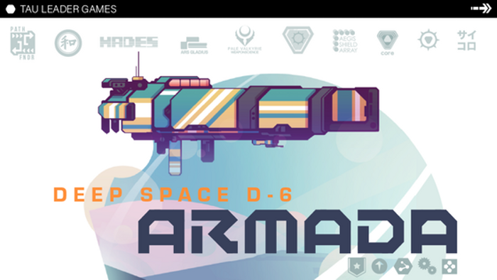 Deep Space D-6: Armada - Worker Placement Co-op Board Game.