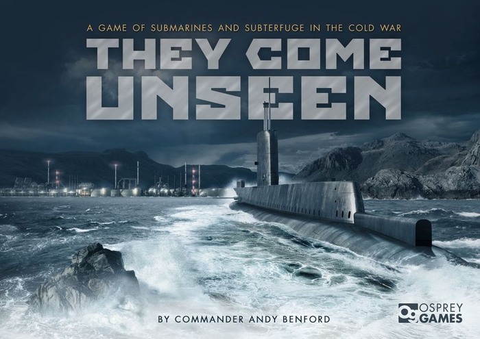 Calvin Reviews They Come Unseen: Hunt submarines and evade sonar in this Cold War board game image