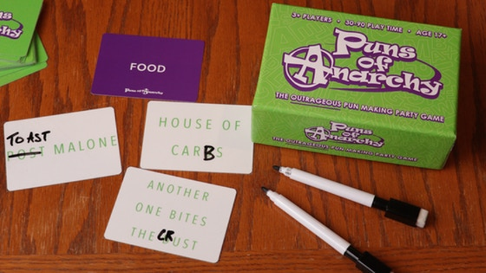 Puns of Anarchy: An Outrageous Pun-Making Party Game
