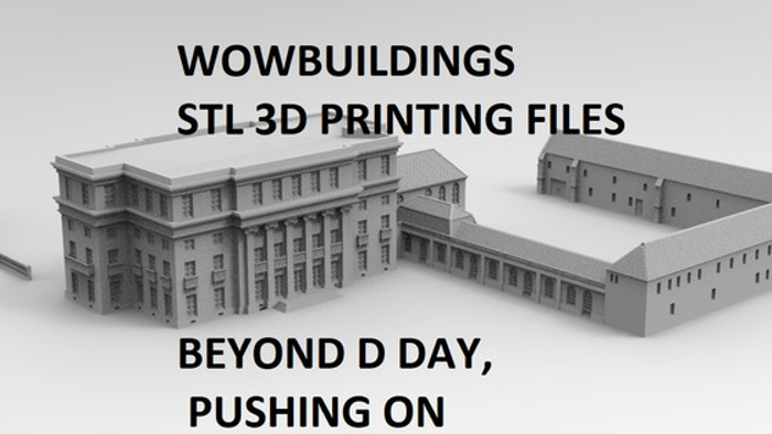 WOWD Day , Pushing On 3D Printing Stl Files for World War 2