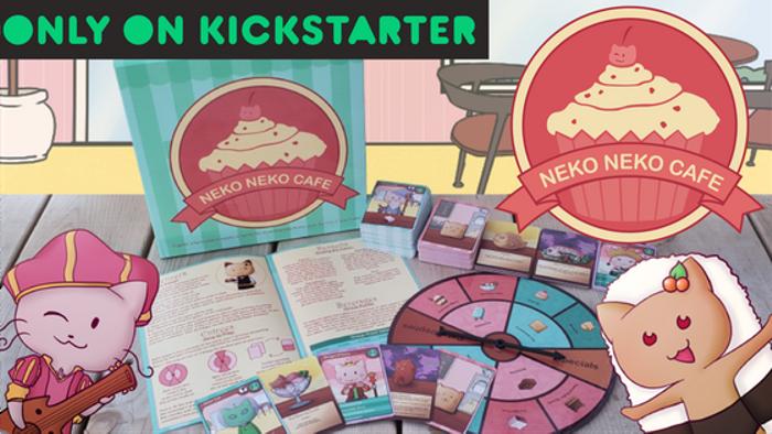 Neko Neko Cafe - The Board Game