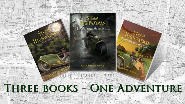 Steam Highwayman III: The Reeking Metropolis