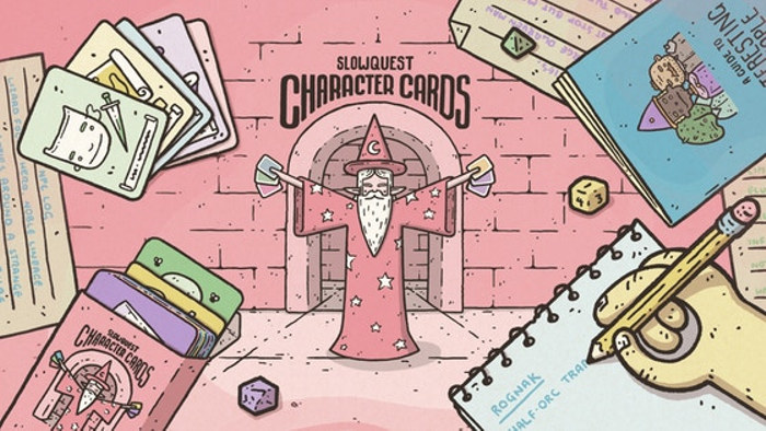 Slowquest Character Cards: a tool for creating heroes & npcs