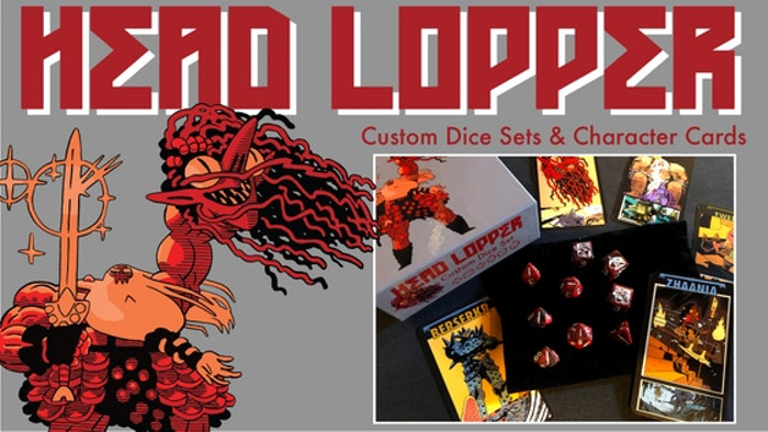 Head Lopper Custom Dice Sets