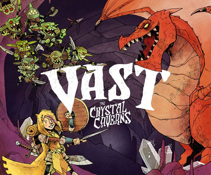 Calvin Reviews Vast: The Crystal Caverns - IN LIMERICK FORM image