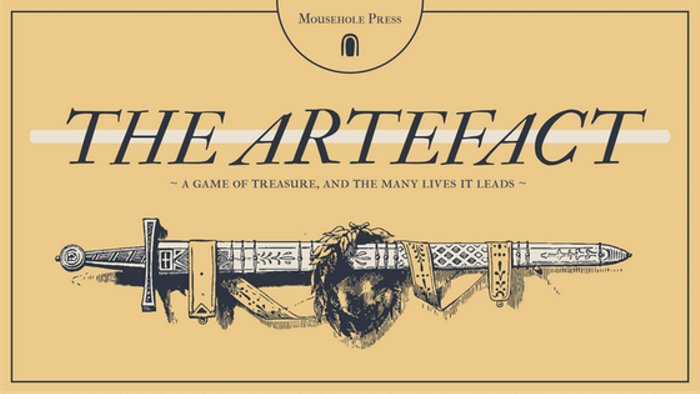 The Artefact, a solo RPG zine