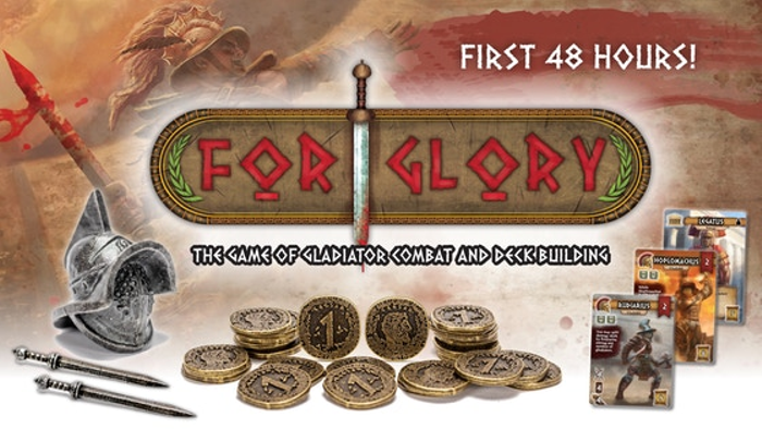 For Glory: The Game of Gladiator Combat and Deck Building