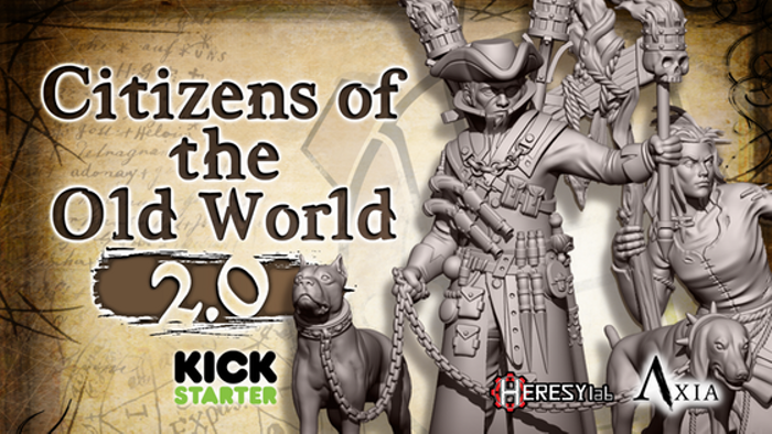 Citizen of the Old World 2.0 - 28mm Heroic Scale miniatures