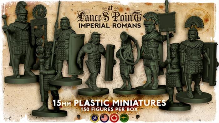 15mm Imperial Roman Plastic Miniatures