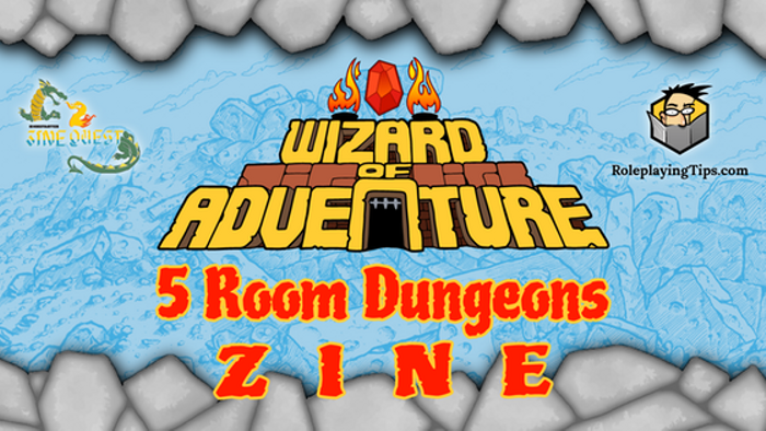 5 Room Dungeons: an RPG zine for D&D 5th Edition