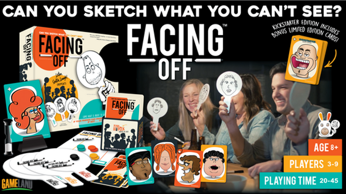 FACING OFF: Can you SKETCH what you can't see?