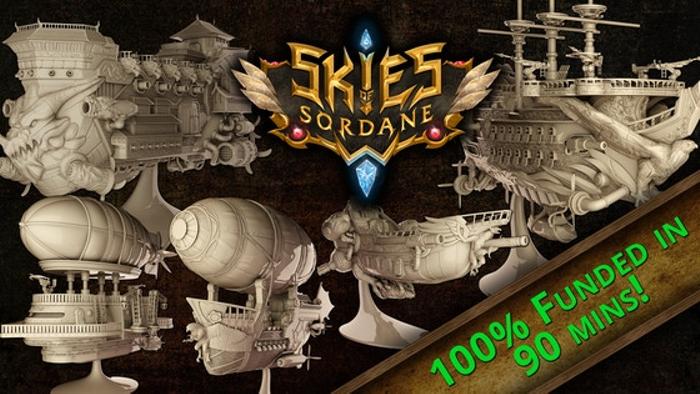 Skies of Sordane - 3D printable STL airships and miniatures