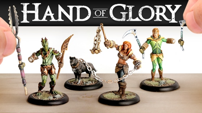 Hand of Glory 2: Modular Magnetic Gaming Miniatures