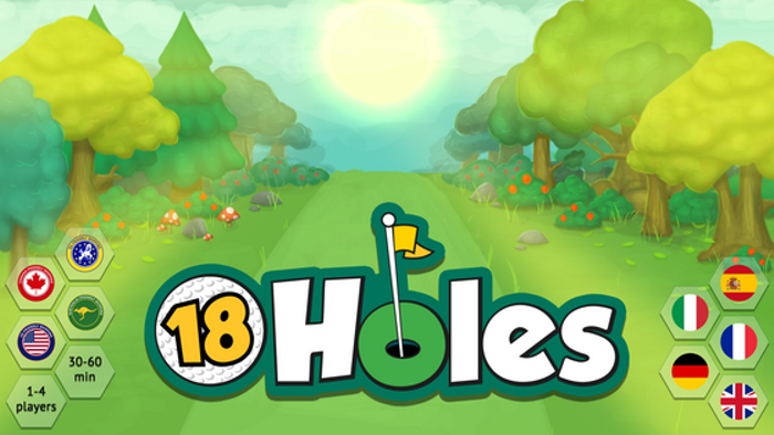 ⛳ 18 Holes - Strategy Board Game