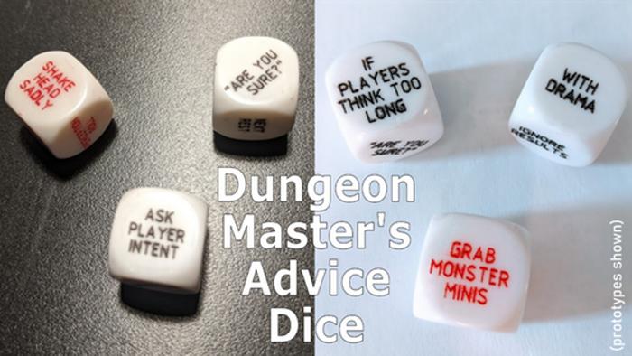 Dungeon Master's Advice Dice
