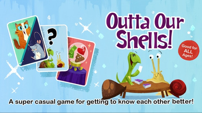 Outta Our Shells: The Card Game To Get To Know Each Other