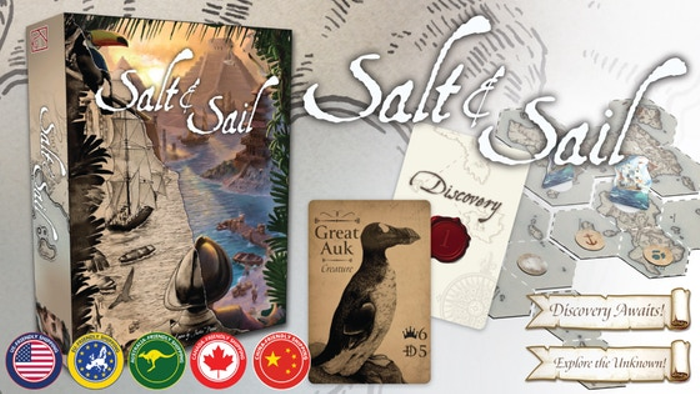 Salt & Sail - A game of discovery during the Age of Sail
