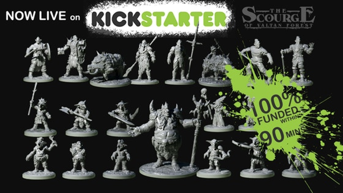 The Scourge of Valtan Forest: 3D Printable STLs for Tabletop
