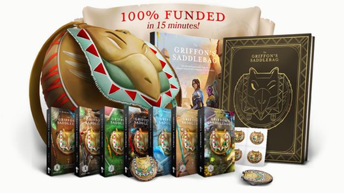 More Magic items for 5e: The Griffon's Saddlebag | Book One