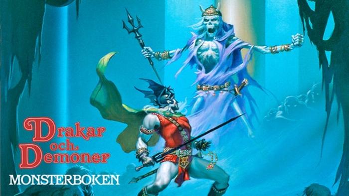 Drakar och Demoner: Monsterboken