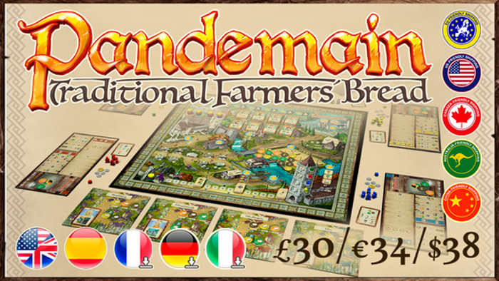Pandemain: The euro-style game about medieval bread baking