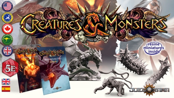 Creatures & Monsters: role-playing miniatures and adventures